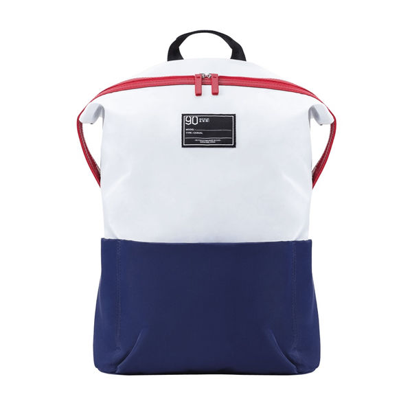 Рюкзак Xiaomi 90 Points Lecturer Casual Backpack White в магазинах Bindli