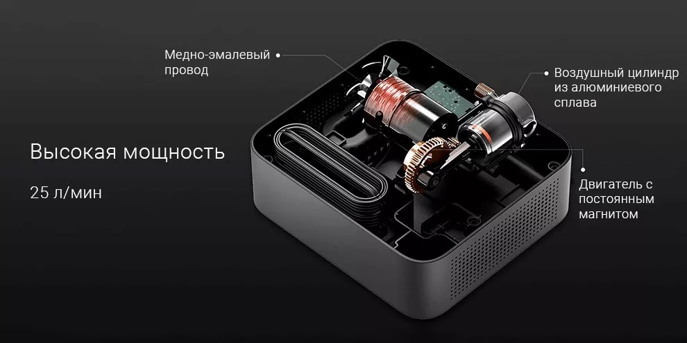 Автомобильный компрессор 70mai Air Compressor Lite