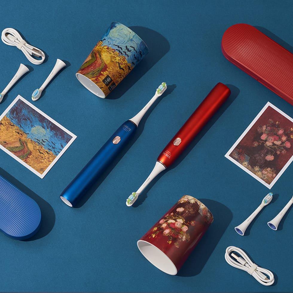 Умная зубная щетка SOOCAS Sonic Electronic Toothbrush X3U & Van Gogh Museum Design